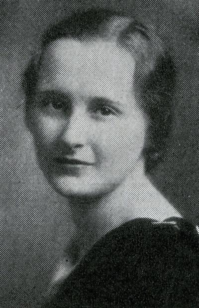 Alice Mary Fisher, 1932.