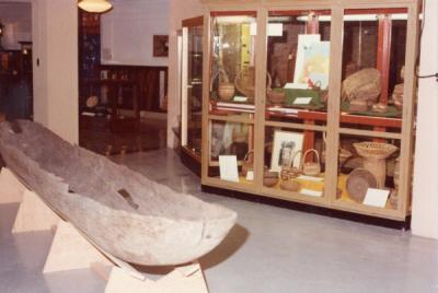 Horner Museum exhibit, May 1978.