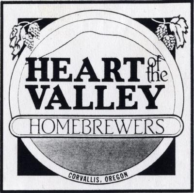 Heart of the Valley (HOTV) Homebrewers logo, 1993.