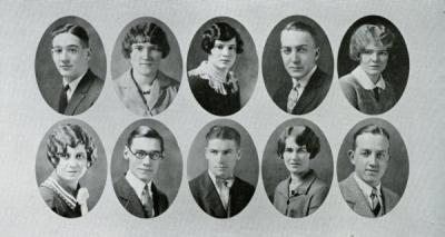Members of the Honor Committee, 1927.