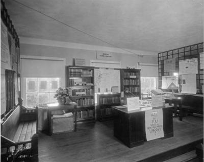 Library promotional event, 1930.