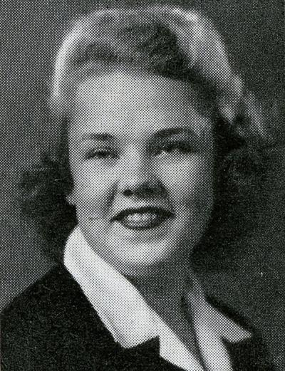 E. Roxie Howlett, known as Roxie Fredericks at the time. 1945.