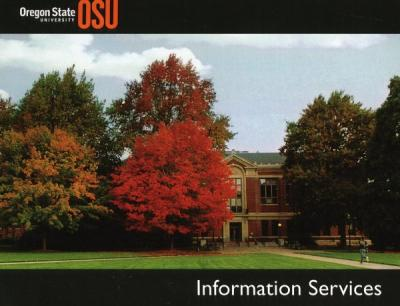 Information Services postcard, ca 2000s.