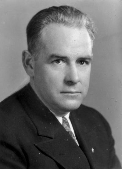 Clair V. Langton, ca 1930s. Langton was the Director of the Division of Health and Physical Education from 1928-1964.