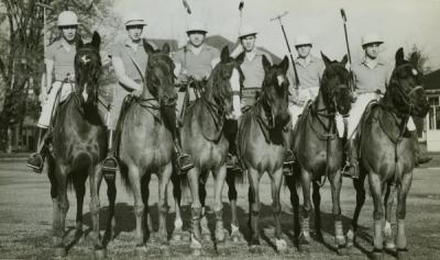 OAC [?] polo players, ca 1930s.