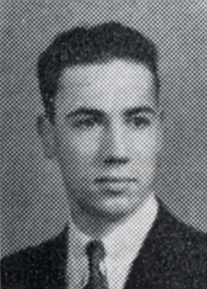 Bud Matlock's Beta Theta Pi yearbook photo, 1935.