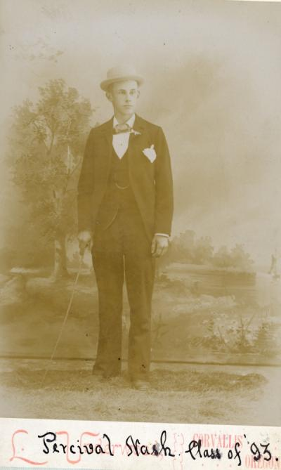 Percival Nash, class of 1893.
