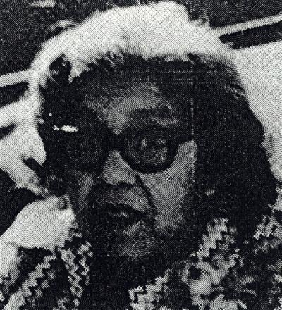"Marie Norris, as featured in a pamphlet titled ""Notable Women in the History of Oregon,"" circa 1975."