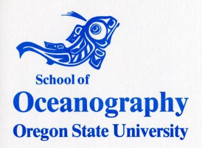 School of Oceanography logo, 1983.