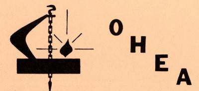 Logo of the Oregon Home Economics Association, October 1981.