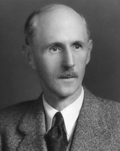 <p>Dean Earl L. Packard, ca 1920s. Packard worked with the Geology department from 1932-1950. In 1932, Packard was appointed the Dean of the School of Science, Director of the Research Council, and Chairman of the Geology</p><p>				department. His focus of interest were fossil records of the Mesozoic and Cenozoic periods from the Pacific Coast.</p>