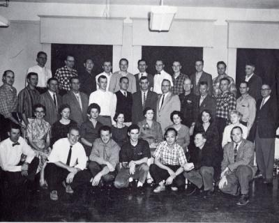 Marvin N. Shearer, third row, eighth from left.