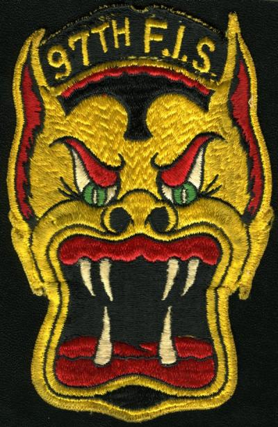 One of the many military patches held in the Silver collection.