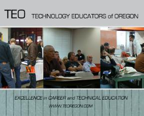 Technology Educators of Oregon logo.