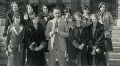 Women's Debate Team, 1928.