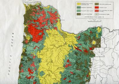 Maps of Washington (State) and the Pacific Northwest, 1863-1994