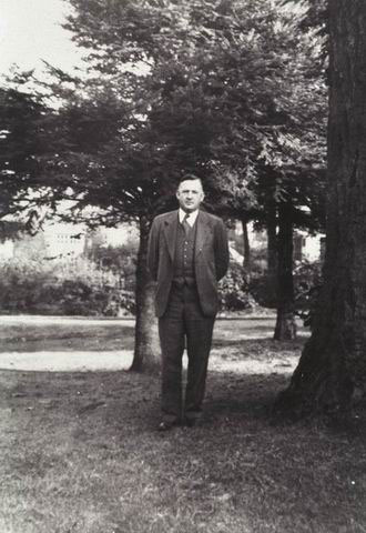Horace Justin Andrews, 1951. Andrews was a strong supporter of forest research and was directly involved in selecting the location of the Experimental Forest near the community of Blue River, Oregon. After Mr. Andrews' untimely death in an automobile accident in Washington, D.C., the Experimental Forest was renamed in his honor in 1953.