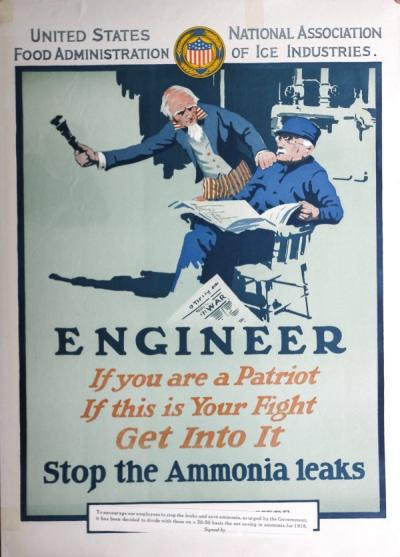 U.S. Food Administration poster, ca. 1918.