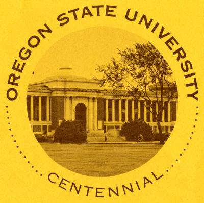 Logo commemorating the OSU Centennial, 1968.