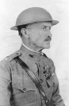 General Ulysses Grant McAlexander, ca. 1920. McAlexander had a long and illustrious military career. In 1920 he was promoted from Colonel to Brigadier General in part because of his leadership at the Battle of the Marne in July 1918.