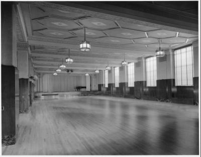 The Memorial Union Ballroom, 1930.