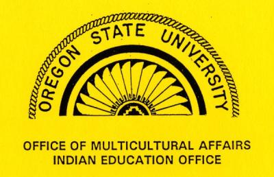 Logo of the OSU Office of Multicultural Affairs, Indian Education Office.