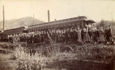 An excursion to the Oregon coast, June 1894.