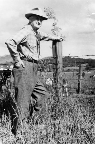 Edwin Russell Jackman, ca. 1960s. Jackman received a B.S. in Agronomy from Oregon Agricultural College in 1921 and served as a faculty member for the Extension Service for 33 years. Jackman was also known for his books, including The Oregon Desert.