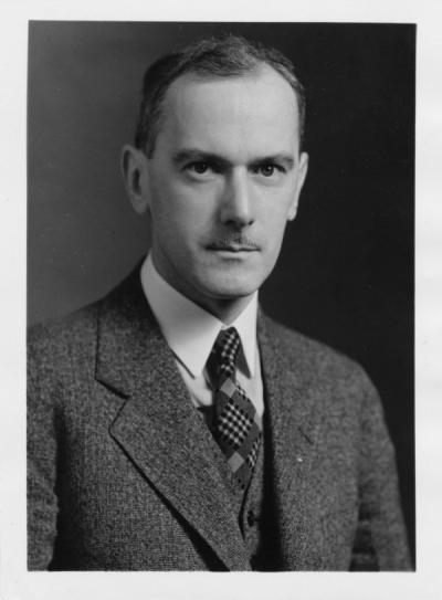 Samuel H. Graf, ca 1920s. Graf received five engineering degrees from Oregon Agricultural College and, between 1909 and 1954, held several faculty positions at his alma mater.
