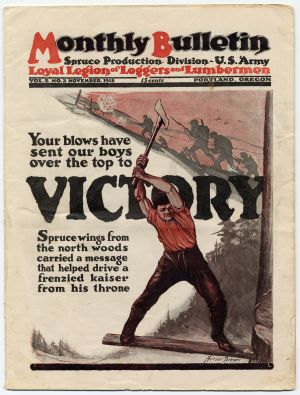Spruce Production Division (SPD) Monthly Bulletin - Victory 11-1918.