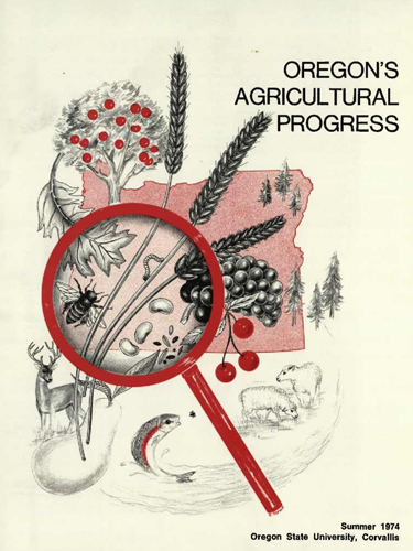 Oregon's Agricultural Progress Summer 1974 cover