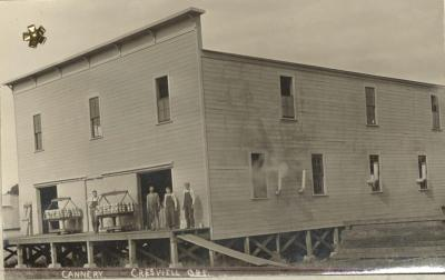 Exterior, Creswell Fruit and Vegetable Growers Association plant