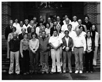 School of Health and Physical Education Faculty, 1982