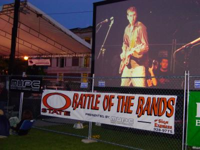 Performance at the OSU Battle of the Bands competition, 2006