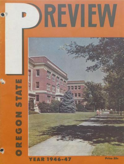 Oregon State Preview for 1946-1947.