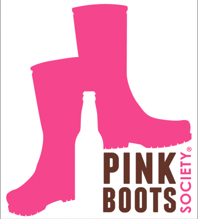 Pink Boots Society, trademarked logo