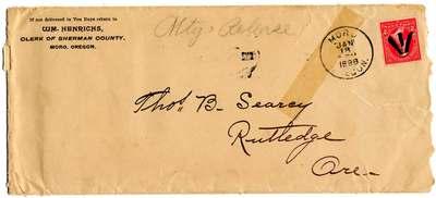 Searcy_1898Mortgage Release envelope.jpg