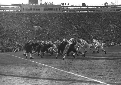 OSC vs. University of Iowa Rose Bowl, 1957