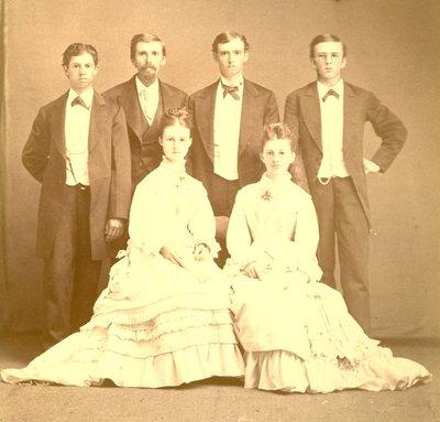 OAC Graduating Class of 1876
