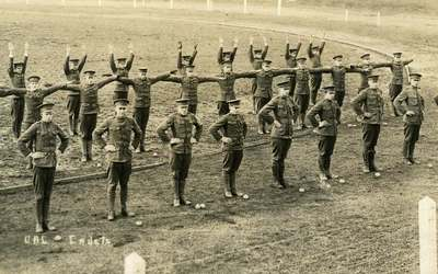 Military Calisthenics, ca. 1921