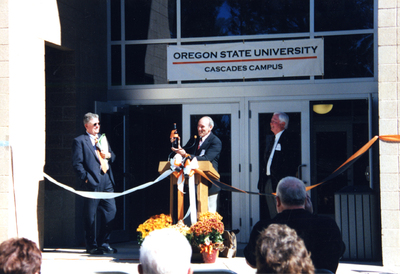 Dedication of Cascades Hall