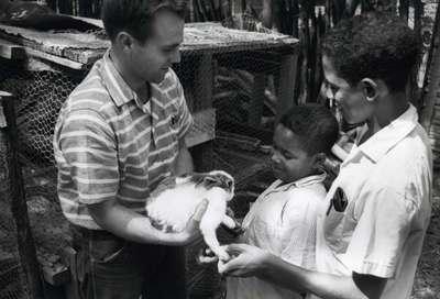 Peace Corp Volunteer Dale Martin, ca. 1960s