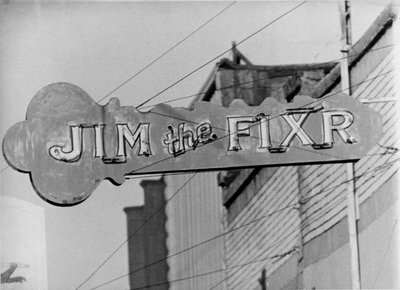 """Jim the Fixr"" Sign"