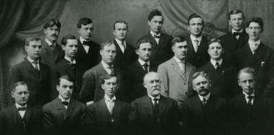OAC Faculty, ca. 1910