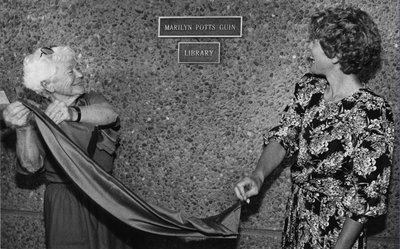 Guin Library Ceremony, 1990