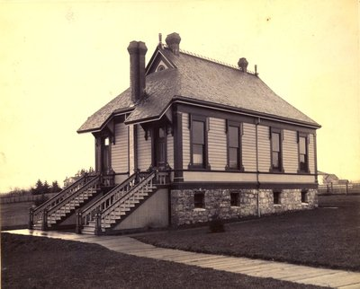 Paleontology Lab Building, ca. 1910s