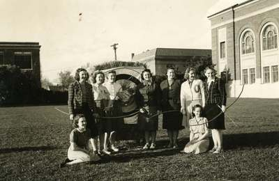 Women's Archery Club, ca. 1940
