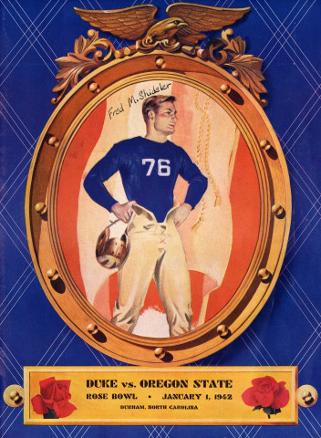 1942 Rose Bowl Program Cover
