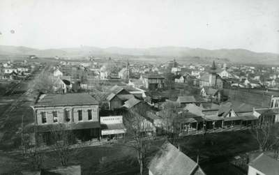 Aerial View of Corvallis, ca. 1890