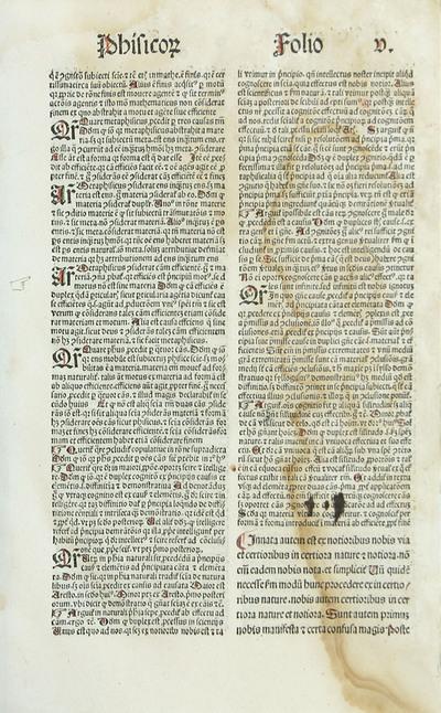 Copulata super octo libros Physicorum Aristotelis iuxte doctrinam doctoris Thomae de Aquino.